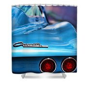 1965 Chevrolet Corvette Stingray Shower Curtain