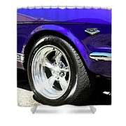 1965 Ford Mustang Gt350 Muscle Car Shower Curtain