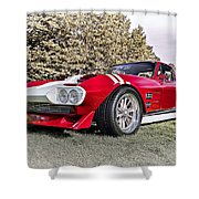 1965 Grand Sport Sebring  Shower Curtain