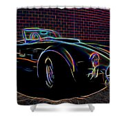1965 Shelby Cobra - 2 Shower Curtain