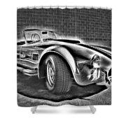1965 Shelby Cobra - 3 Shower Curtain