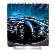 1965 Shelby Cobra - 4 Shower Curtain