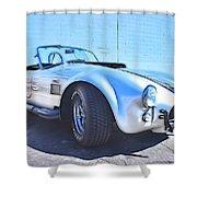 1965 Shelby Cobra - 5 Shower Curtain