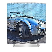 1965 Shelby Cobra- 1 Shower Curtain