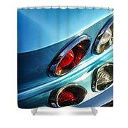 1966 Chevrolet Corvette Taillight -120c Shower Curtain