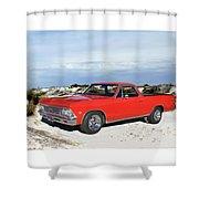 1966 Chevrolet El Camino 327 Shower Curtain