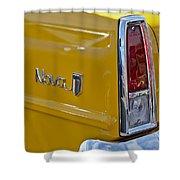 1966 Chevrolet Nova Taillight Emblem Shower Curtain