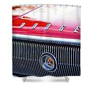 1966 Dodge Charger Grille Emblem Shower Curtain