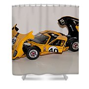 1966 Ford Gt40 - Diecast Shower Curtain