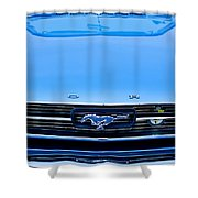 1966 Ford Mustang Front End Shower Curtain