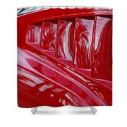 1966 Ford Mustang Gt Side Scoops -032c Shower Curtain