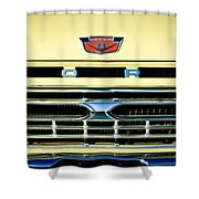 1966 Ford Pickup Truck Grille Emblem Shower Curtain