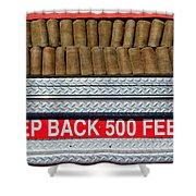 1966 Ford Young Fire Engine Shower Curtain