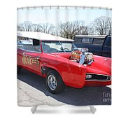 1966 Gto Monkeemobile Shower Curtain