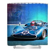 1966 Lola T70 Shower Curtain