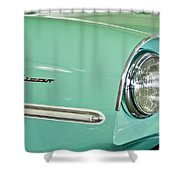 1967 Amphicar Model 770 Head Light Shower Curtain