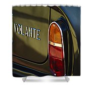 1967 Aston Martin Db6 Volante Tail Light Shower Curtain