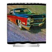 1967 Cadillac Coupe Shower Curtain