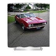 1967 Camaro Ragtop Shower Curtain