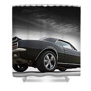1967 Camaro Rs Shower Curtain