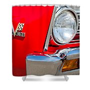 1967 Chevrolet Chevelle Ss Emblem Shower Curtain