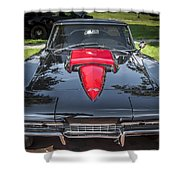 1967 Chevrolet Corvette 427 435 Hp Shower Curtain