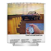 1967 Chevrolet Corvette Shower Curtain