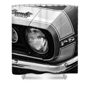 1967 Chevy Camaro Rs Shower Curtain