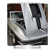 1967 Chevy Corvette Shower Curtain