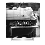 1967 Chevy Corvette Stingray Shower Curtain