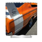 1967 Dodge Charger 02 Shower Curtain