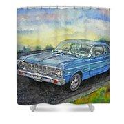 1967 Ford Falcon Futura Shower Curtain