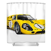 1967 Ford Gt 40 Mk Iv Shower Curtain