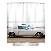 1967 Mustang Shower Curtain