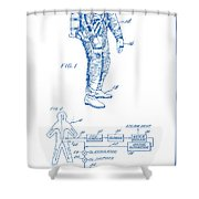 1967 Nasa Astronaut Ventilated Space Suit Patent Art 2 Shower Curtain