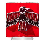 1967 Pontiac Firebird Emblem Shower Curtain