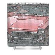 1967 Pontiac Gto Shower Curtain