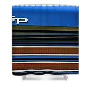 1967 Pontiac Hurst Grand Prix Convertible Taillight Emblem -3584c Shower Curtain