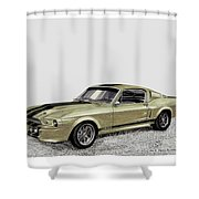 Go Baby Gone Shower Curtain