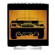 1968 Camaro Ss  Full Rear Shower Curtain