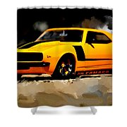 1968 Camero Z28 Shower Curtain