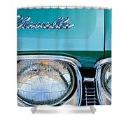 1968 Chevrolet Chevelle Headlight Shower Curtain