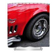 1968 Chevrolet Corvette Stingray Shower Curtain