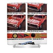 1968 Chevy Camaro Shower Curtain