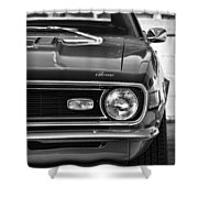 1968 Chevy Camaro Ss 350 Shower Curtain