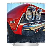 1968 Chevy Chevelle Ss 396 Shower Curtain