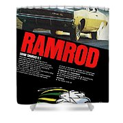 1968 Dodge Charger R/t - Ramrod Shower Curtain