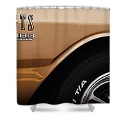1968 Dodge Dart Gts 383 Four Barrel Shower Curtain