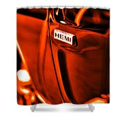 1968 Hemi Dodge Charger Shower Curtain