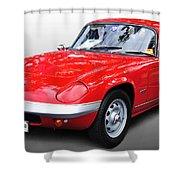 1968 Lotus - Elan S4 -  Full View Shower Curtain